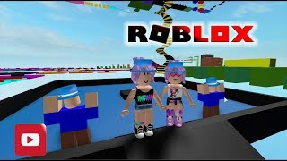 ROBLOX-Ana & Bela DO NOT TAKE CHECKPOINT AT PARKOUR!
