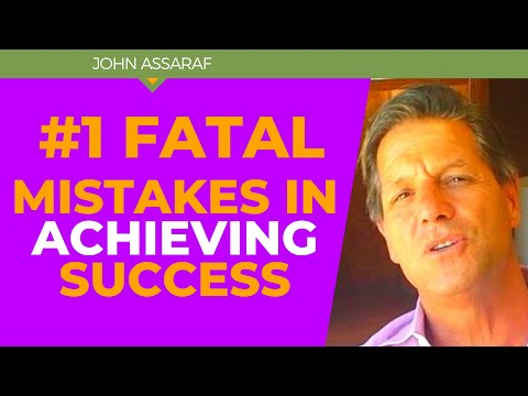 #1 Fatal Mistake People Make Around Achieving Success