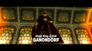 Legend of Zelda: Ocarina of Time - Boss: Great King of Evil Ganondorf [1080P]