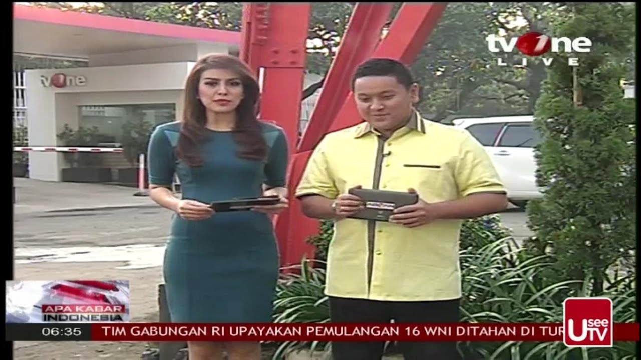 Presenter Cantik Baju Ketat TV ONE - Body nya Beeeeuuuh