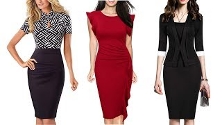 Top 10 Official Dresses for Ladies on Amazon | Womens Office Wear