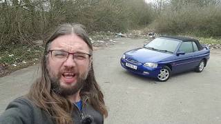 Real Road Test: Ford Escort Mk6 Cabriolet 1.8 Ghia (in the rain)