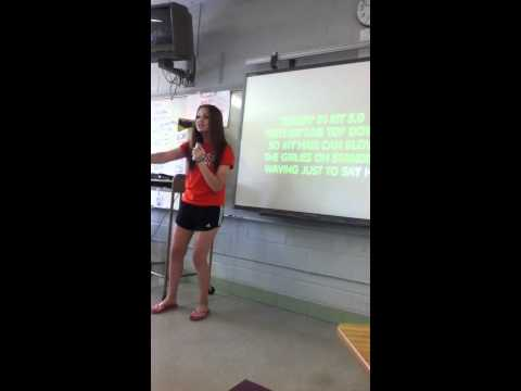 Karaoke in AP Language :)