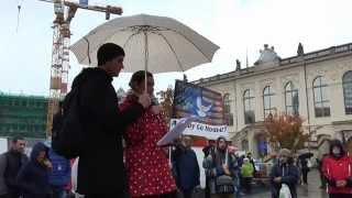 5. ENDGAME Demonstration in Dresden am 17.10.2015 Sachsen,