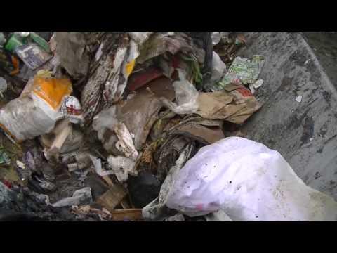 Komptech Waste Shredder Demonstration in Fort Madison, IA