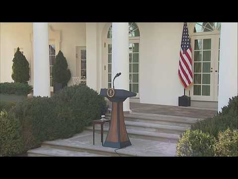 President Trump speaks about government shutdown   Raw