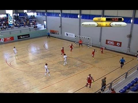 XXL Energy Futsal Championship - Mayadeen v/s L. Army -August 18, 2015