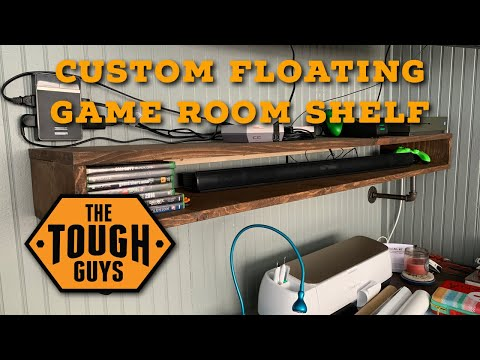 Floating Shelf Build - Wood & Pipe
