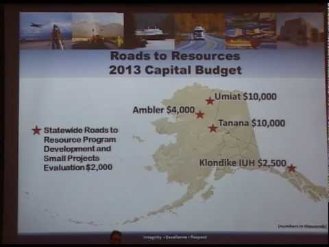 Roads to Resources Initiative, What it means to Mining in Alaska