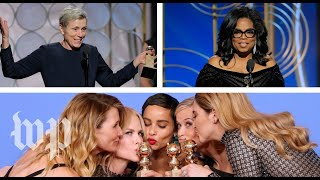 The 2018 Golden Globes were all about women