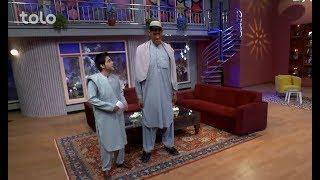 زیر چتر عید - صحنه های جالب - صحبت ها با حضرت الله خاکسار یکی از قد بلندترین مرد های افغانستان
