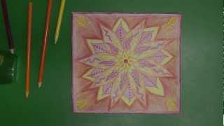 "Whispering Mandalas #1 - ""beginnings"" - Drawing For Asmr, Relaxation And Sleep"