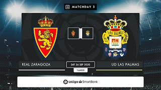 R. Zaragoza - UD Las Palmas MD3 S1600
