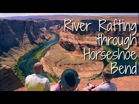 River Rafting through Horseshoe Bend