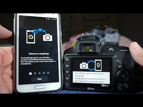 How to use SnapBridge - Nikon Software to Transfer Images via Bluetooth (demo using the D3400)