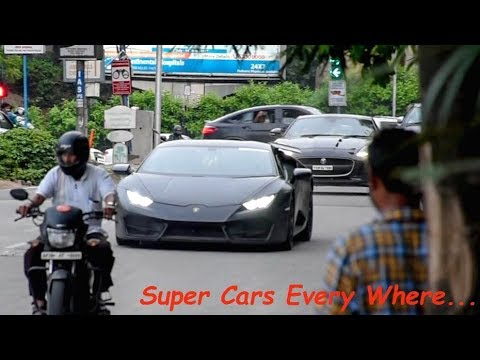 Non-Stop Super Car Scenes @Jubilee Hills(Hyderabad)