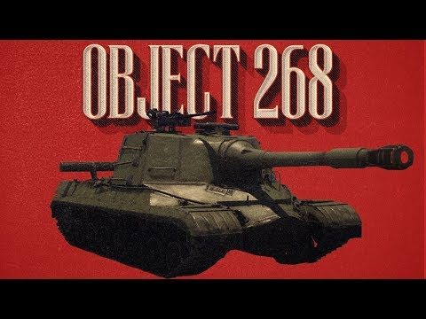 Soviet Enforcer - Object 268 Tank Destroyer - War Thunder RB Gameplay
