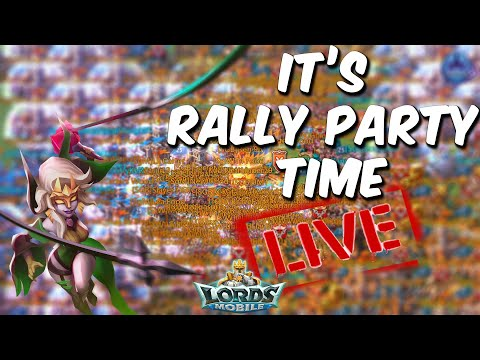 Kingdom 611 MULTIPLES RALLIES LIVE | Rally Party With SugarKane & SugarBane - Lords Mobile