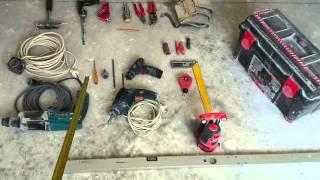 инструмент гипсокартонщика, базовый набор. Tool, plasterboard.(, 2014-05-19T19:21:02.000Z)