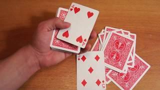 Бесплатное обучение фокусам #53: Секреты фокусов с картами! Самые лучшие карточные фокусы в мире!
