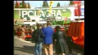 PRL 1986 Krosno zacofane rolnictwo. Targi Polagra. Regaty w Giżycku. Morskie Oko
