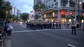 U S Marine Band Waikiki Hawaii