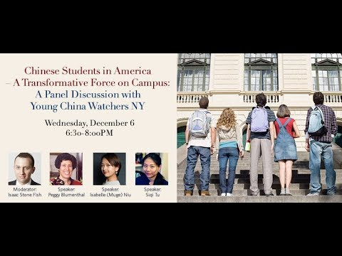 Chinese Students in America – A Transformative Force on Campus