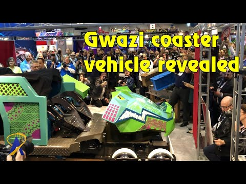 Iron Gwazi Coaster Car Unveiling for Busch Gardens Tampa