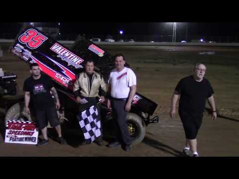 Trail-Way Speedway 358 Sprint Car Victory Lane and Hard Charger 5-19-17