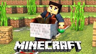 Minecraft #21 - Construindo a nossa PONTE,  TA FICANDO LINDO