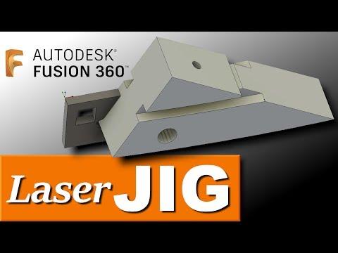 Laser Cut CNC Jig in Fusion 360! FF123