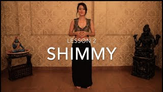 How to Shimmy with Meher Malik | Basic Beginner Belly Dance Tutorials