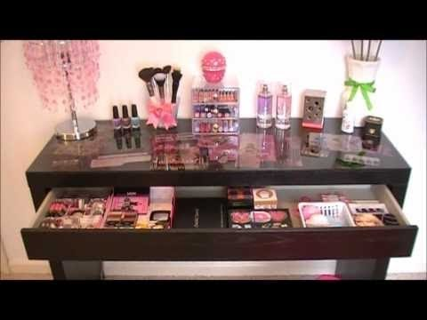 My Make Up Table Youtube
