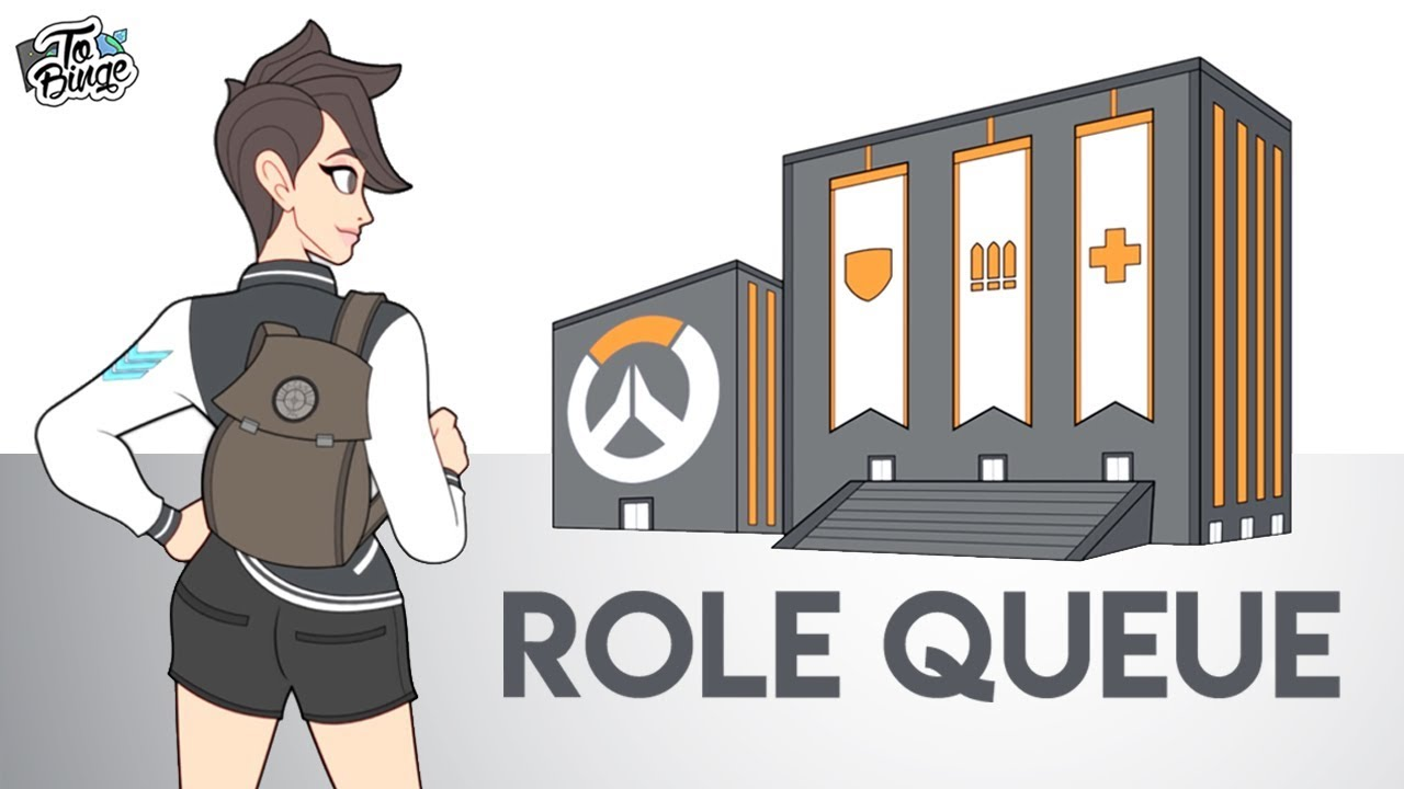 Role Queue Shenanigans: Overwatch Animated thumbnail