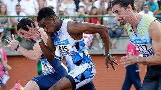 Men's 100m at Spanish Championships 2018