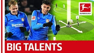 Julian Brandt & Kai Havertz - What Makes Leverkusen's Youngsters So Good?