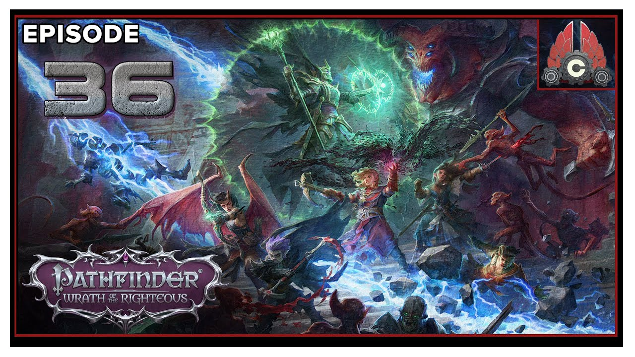 CohhCarnage Plays Pathfinder: Wrath Of The Righteous (Aasimer Deliverer/Hard) - Episode 36