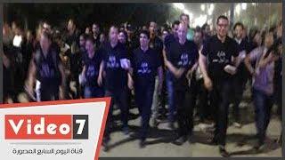 """طلاب جامعة أسيوط يطلقون """"انزل شارك من أجل مصر"""" للمشاركة بالانتخابات الرئاسية"""