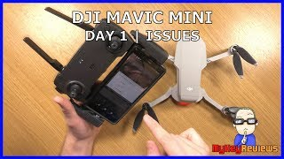 DJI Mavic Mini - Day 1 Issues for Android Users | DJI Fly | MyKeyReviews