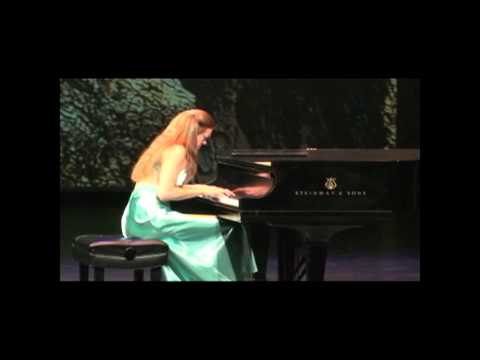 "Svetlana Smolina performs F. Chopin Prelude D Flat Major ""Raindrop"" Op.28 Op.15"