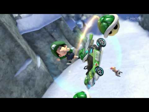 Blue Shell Propels Baby Weegee to Victory! Wii U - Mario Kart 8 - Mount Wario (150cc)