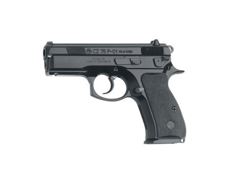 CZ-75 P-01 Cleaning, No Talking