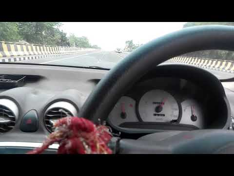 Maximum  speed test review (santro car)////130-140km/h