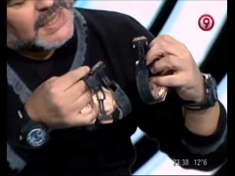 TVR - Diego Maradona le envió un mensaje a Ricardo Fort 21-07-12