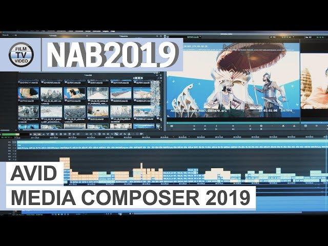 NAB2019: Avid Media Composer 2019