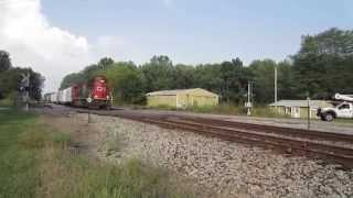 CN SD60 gets the local train.