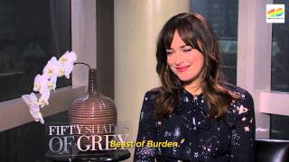 Hablamos con Dakota Johnson de 50 sombras de Grey