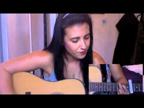 Sandcastles Kate Voegele Acoustic Guitar Cover W Chords Youtube