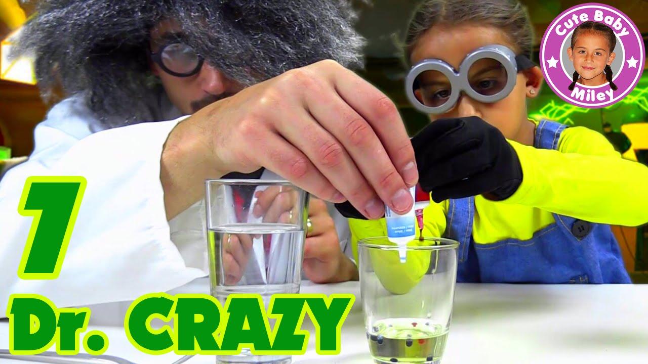 KINDER FARBSPIEL EXPERIMENT | Verrückter Professor Doc Crazy ist ...