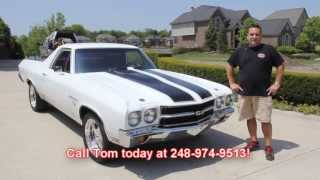 1970 Chevy El Camino Big Block 4 Speed Classic Muscle Car for Sale in MI Vanguard Motor Sales